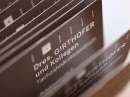 Kontakt aufnehmen mit der Praxis Dr. Girthofer in München