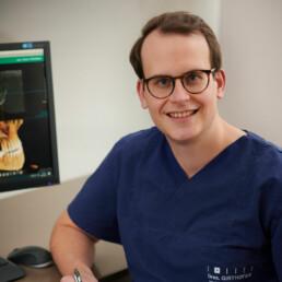 Dr. Philipp Dankesreiter, Assistenzarzt in der Praxis Dr. Girthofer in München