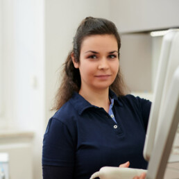 Isabella Drexl, Assistenz in der Praxis Dr. Girthofer in München