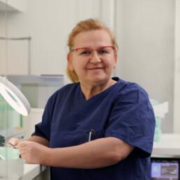 Mirsada Hadziabulic, Assistenz in der Praxis Dr. Girthofer in München